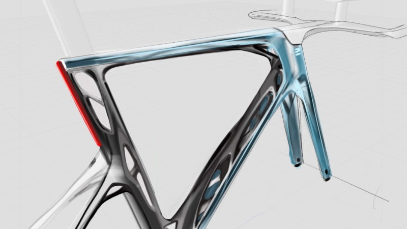 Individual custom 3D printed aluminum frames? Decathlon explores the idea through Autodesk