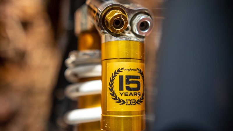 Cane Creek viert 15 jaar Double Barrel met Limited Edition DB Heritage-model