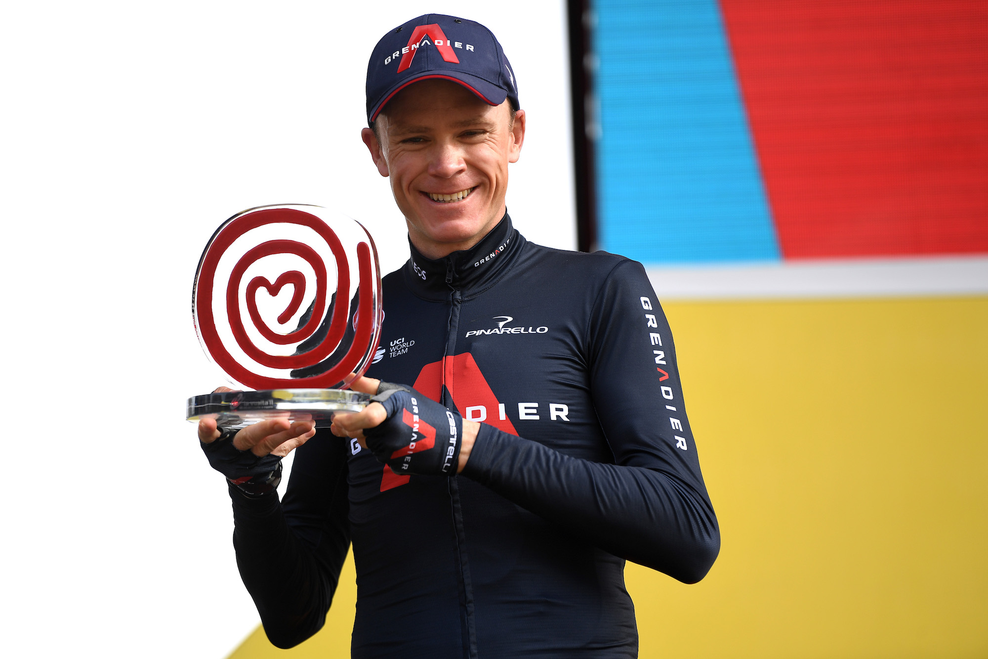 Chris Froome confirms first race with his new team for 2021