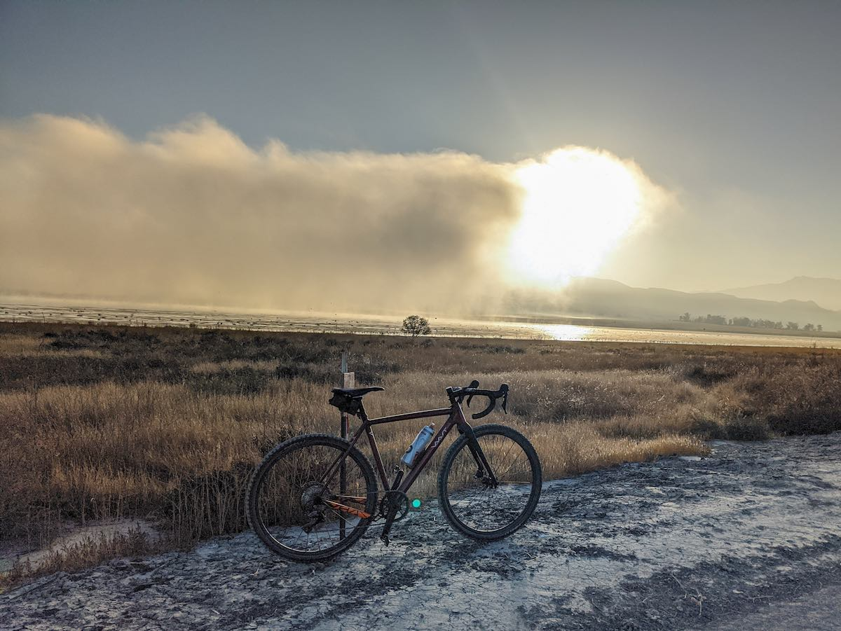 Bikerumor Pic Of The Day: Mystic Lake, Californië