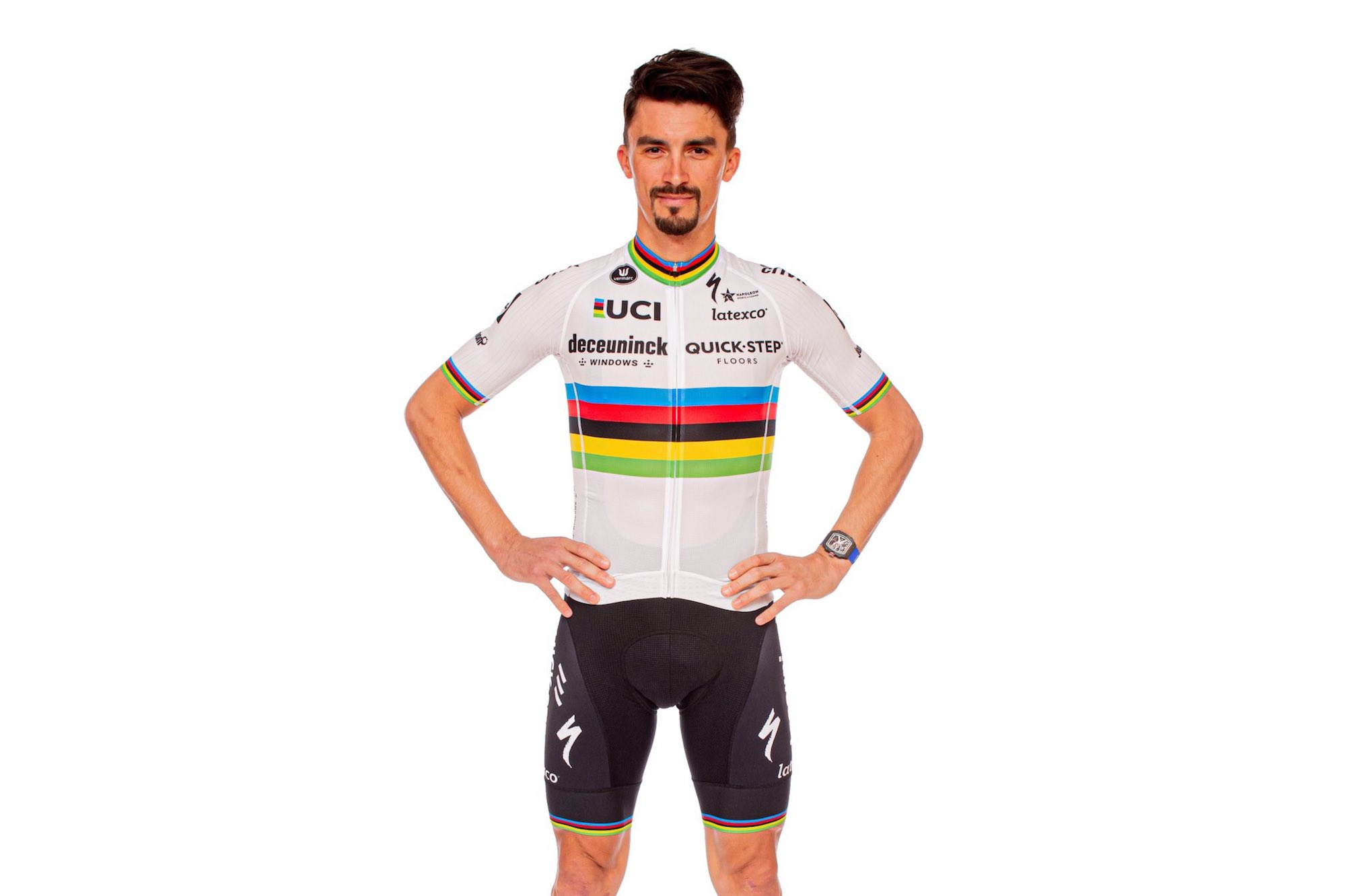 'The culmination of a lifelong dream': Julian Alaphilippe reveals his world champion's jersey for 2021