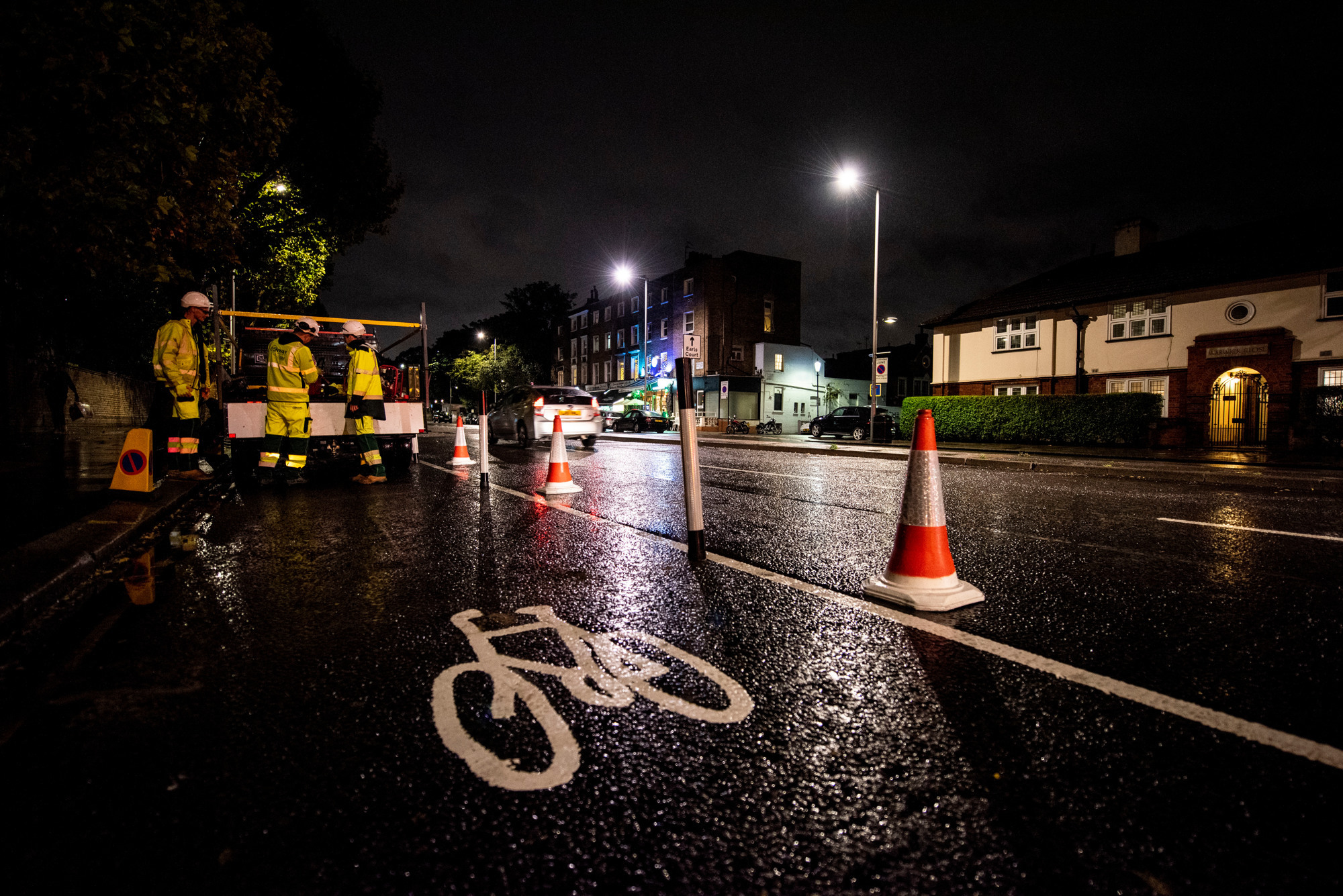 Cyclist left concussed after crash on busy street where council removed cycle lane
