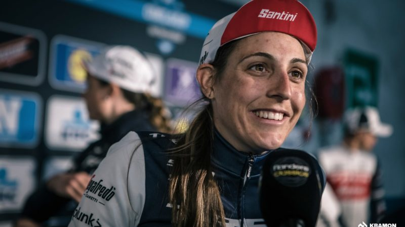 Jamais descendu du podium: Lucinda Brand domine CX et lorgne Roubaix