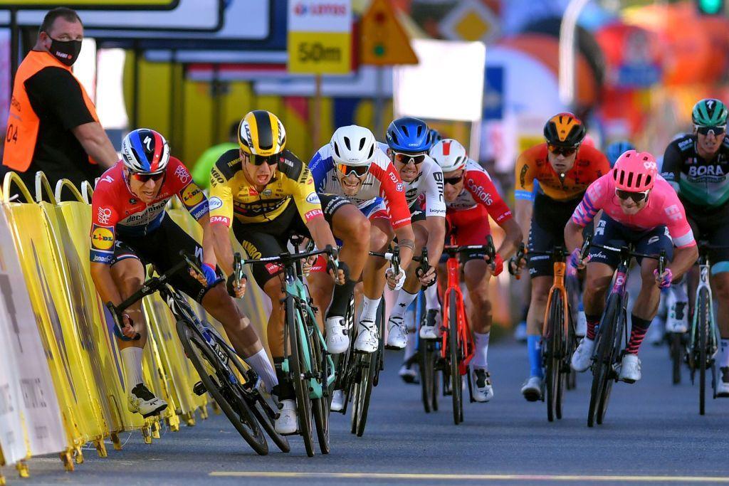 """Tour de Pologne """"über verschiedene Szenarien nachdenken"""", wenn es darum geht, das gefährliche Sprint-Finish im Downhill zu ändern"""
