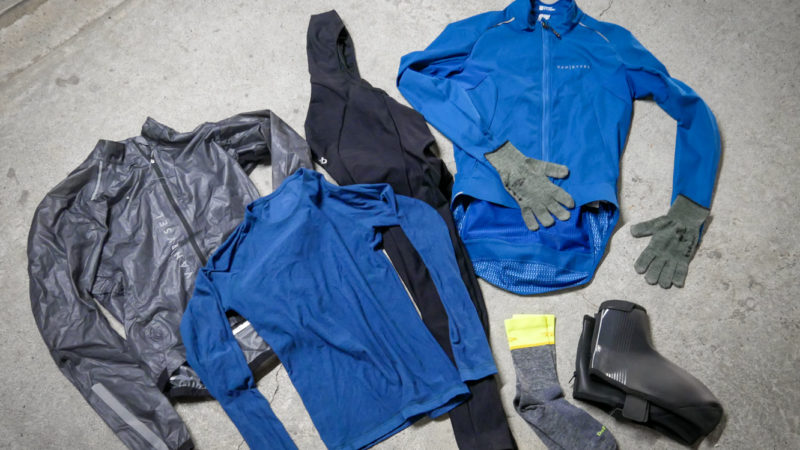 Can you buy a complete winter cycling clothing wardrobe for $200?