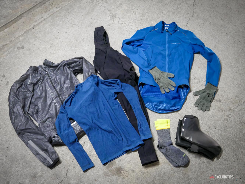 Puoi acquistare un guardaroba completo di abbigliamento invernale da ciclismo per $ 200?