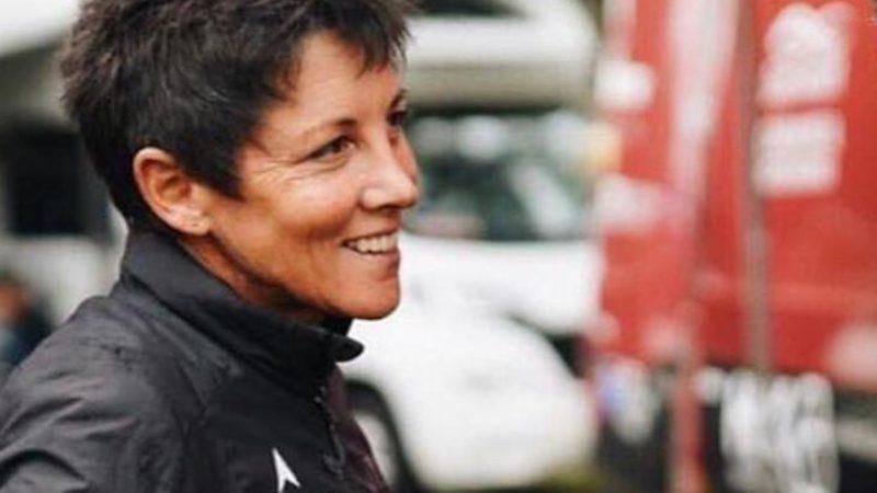 Cherie Pridham wird die erste weibliche DS auf der WorldTour der Männer sein