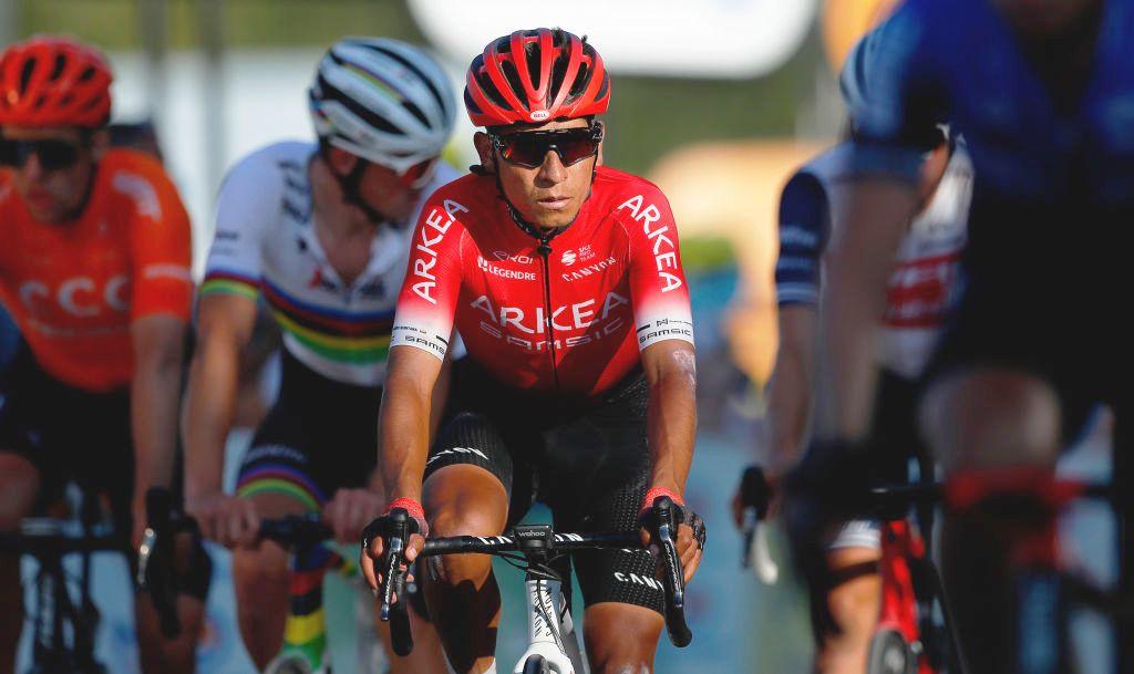 Nairo Quintana ist zwei Monate nach der Knieoperation wieder im Training