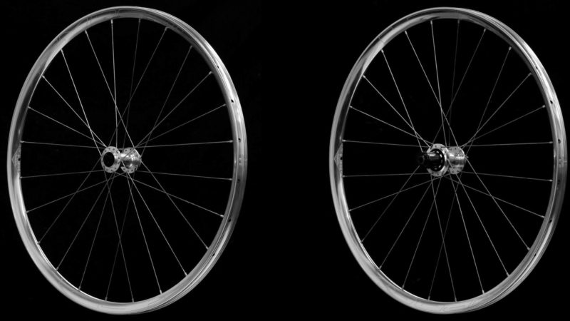 HED polit l'Emporia GA Pro Silver Edition pour une paire de roues de gravier en alliage brillant