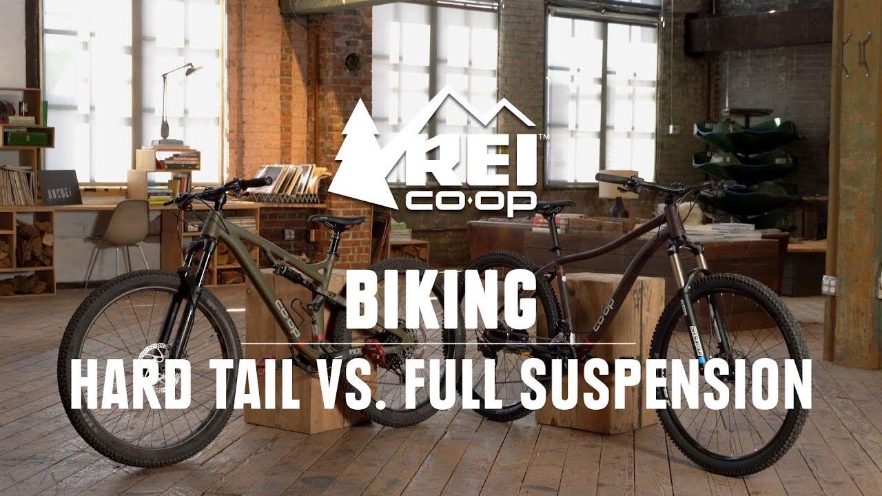 Should I Get a Hardtail or Full Suspension Bike? || REI
