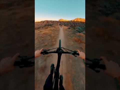 😍 Satisfying Mountain Biking in Utah 🤤