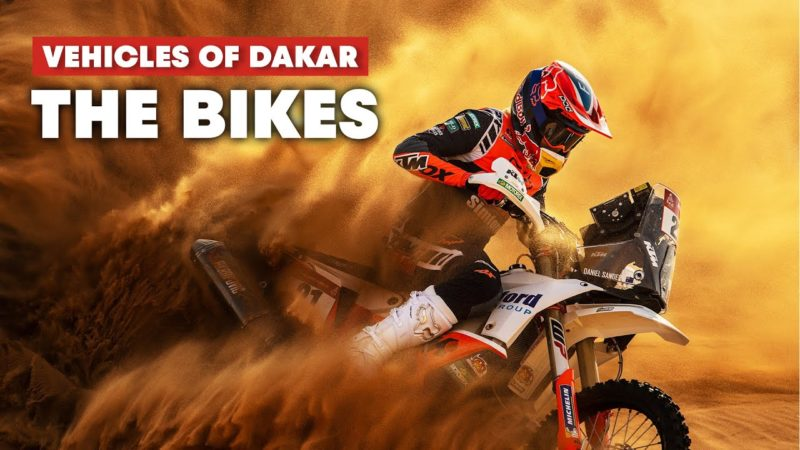 The Most Challenging and Dangerous Category: The Bikes of the Dakar Rally