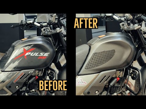 This SMALL change made a BIG difference to how my bike looks | Hero Xpulse 200 BS6