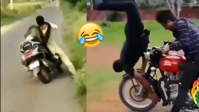 Funny Bike Fails Video Compilation |bike comedy video |Fh Modified