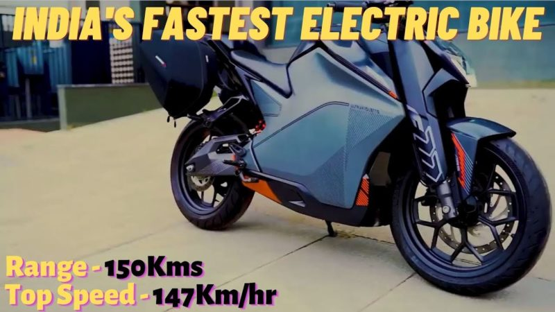 India's Fastest Electric Bike Ready For Launch in 2021 | Ultraviolette F77