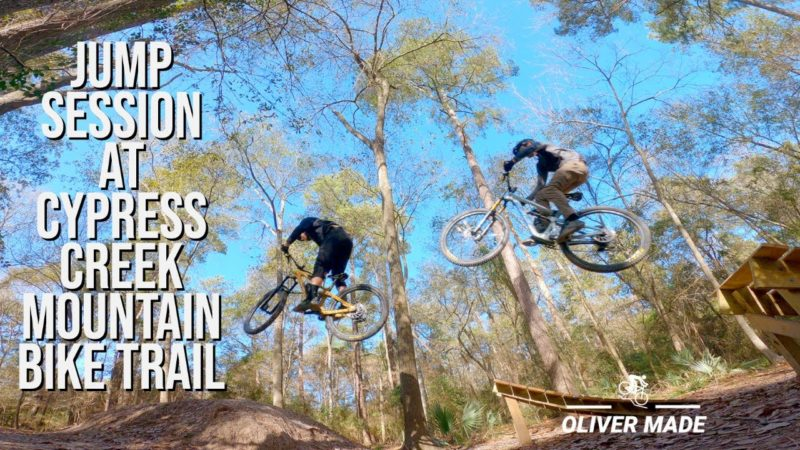 Jump Session at Cypress Creek Mountain Bike Trail – CCMTB