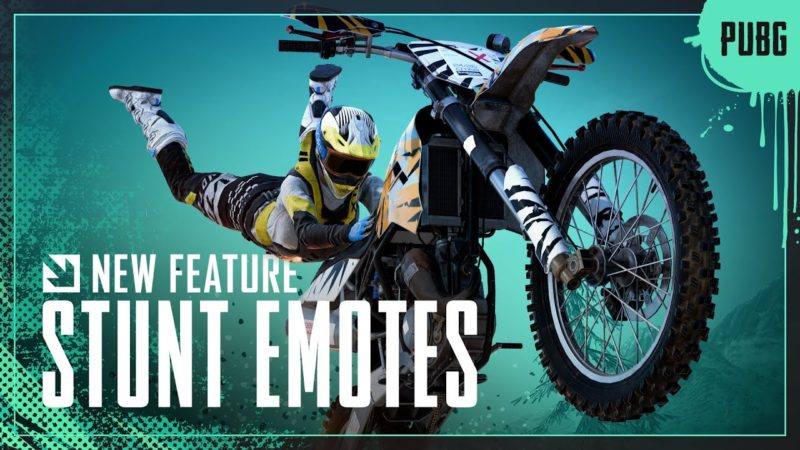 STUNT EMOTE DIRT BIKE | PUBG