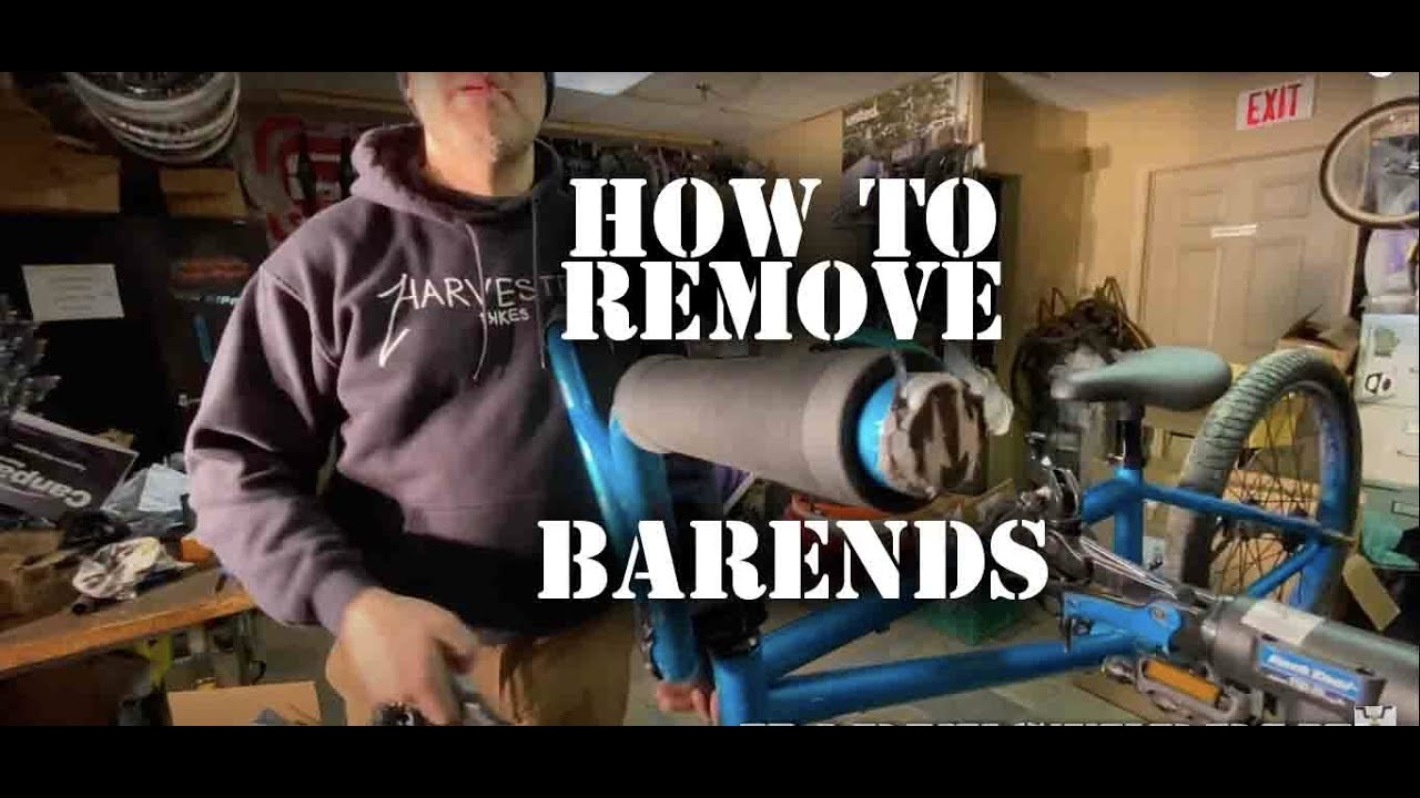 HOW TO REMOVE STUCK BARENDS TUTORIAL @ Harvester Bikes
