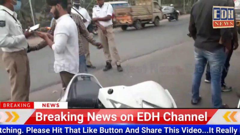 Goshamahal Ps Limit Traffic Police Ne Ki Bike Aur Car Ki Checking Kiye Gai  @EDH News
