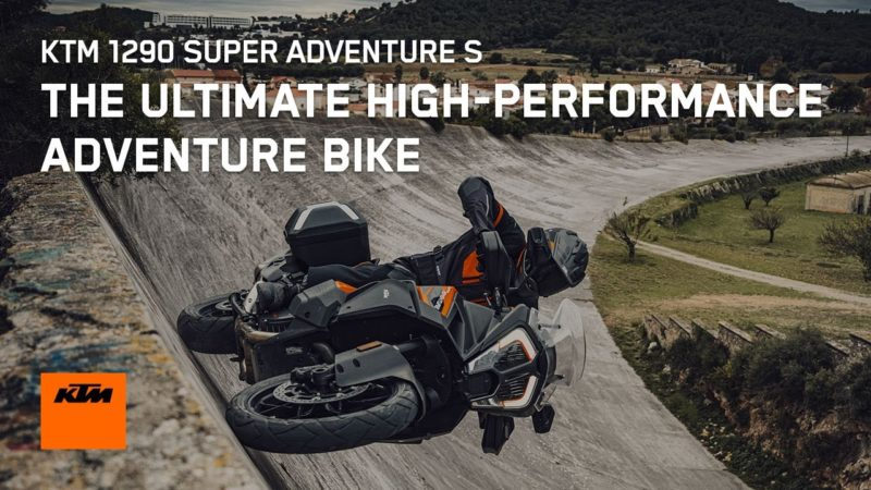 Meet the Ultimate High-Performance Adventure Bike, the 2021 KTM 1290 SUPER ADVENTURE S | KTM