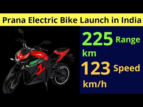 Prana Electric Bike Launched in India, Earth Energy EvolveR – EV News 131