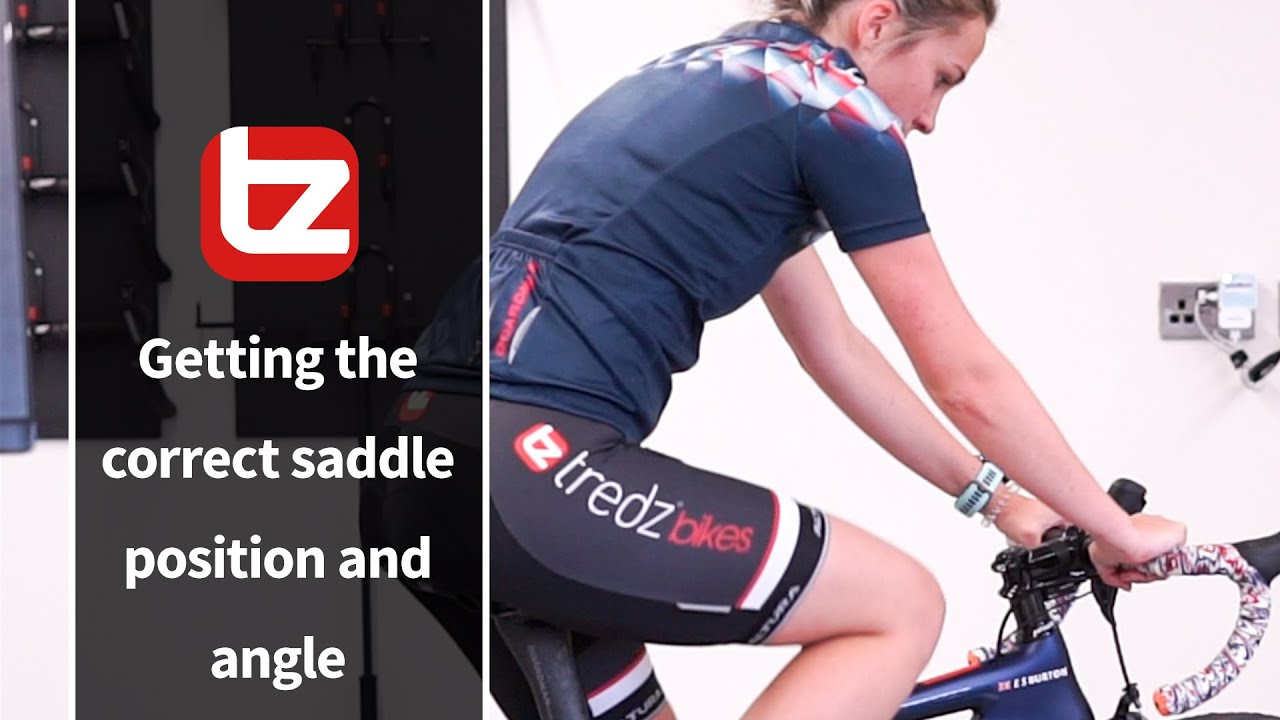 How To Get The Most Comfortable Saddle Position And Angle | Bike Sizing | Tredz Bikes