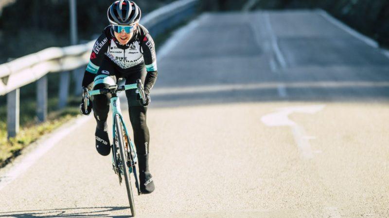 Amanda Spratt leads Team BikeExchange at Strade Bianche but options open