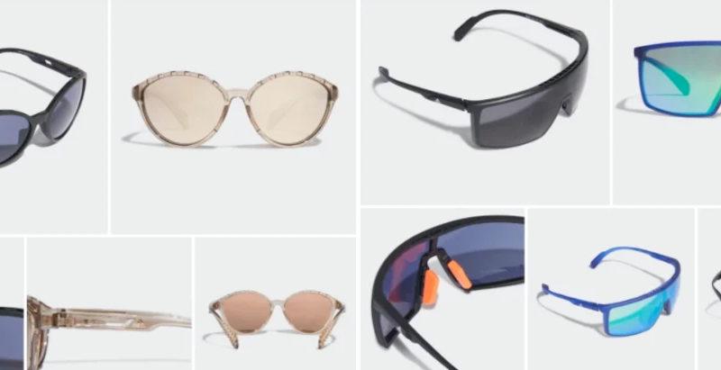 I nuovi occhiali da sole Adidas Sport offrono la tecnologia Kolor Up per migliorare l'ambiente circostante