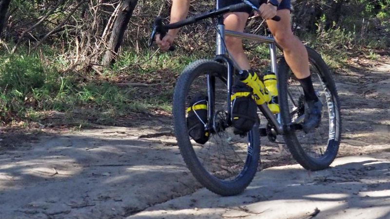 Curve Dirt Hoops wide alloy off-road wheels take MTB bikepacking adventures further