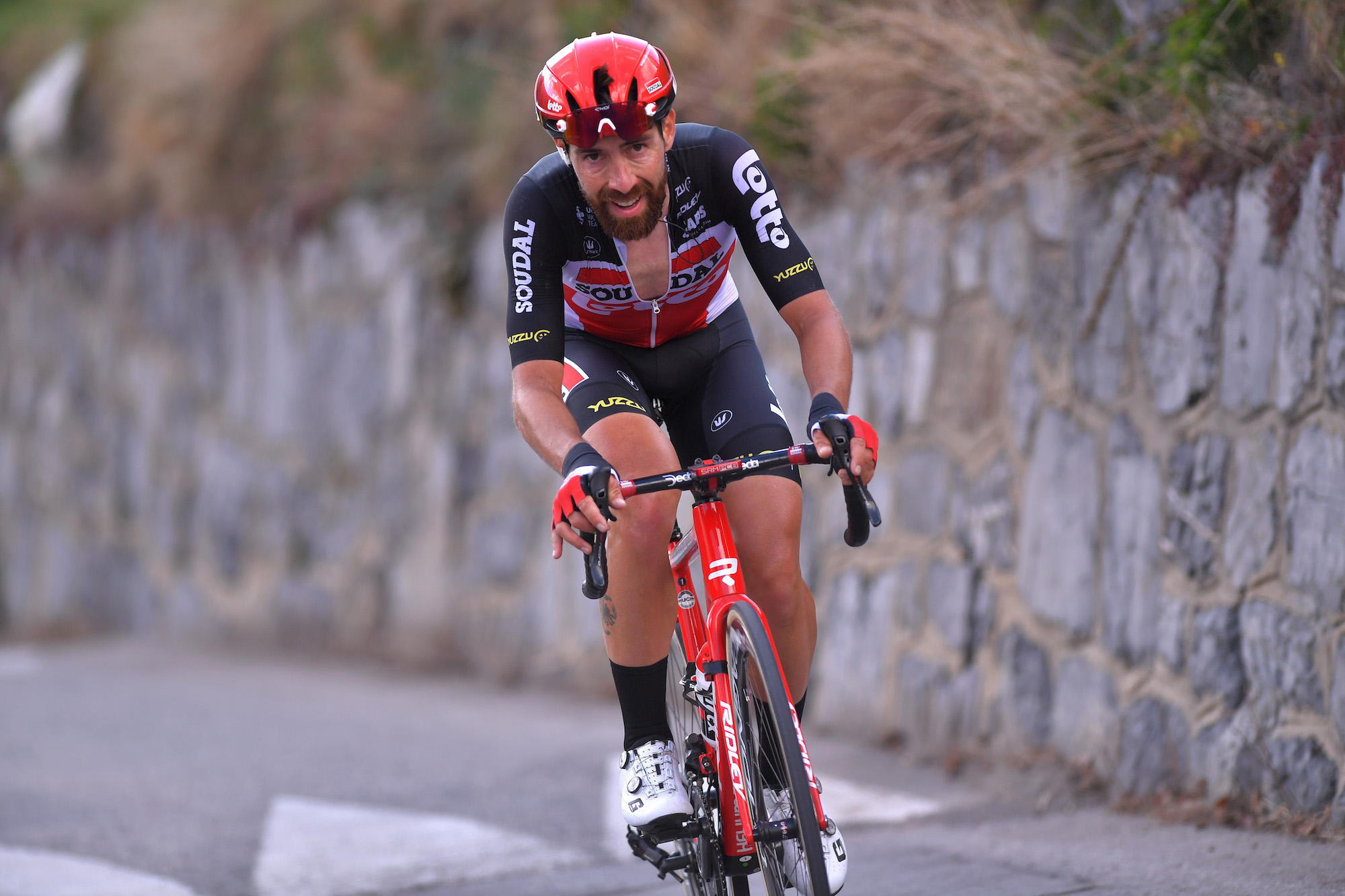 Thomas De Gendt and Tim Wellens set new Strava KoM on Vall d'Ebo during training race