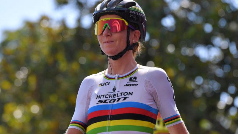 Annemiek van Vleuten condivide i dati Strava dopo essersi unita al team di Classics maschile durante l'allenamento