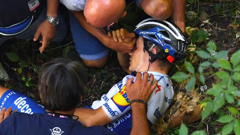 Remco Evenepoel tvunget til at tage mere tid på cykel, da opsvinget fortsætter