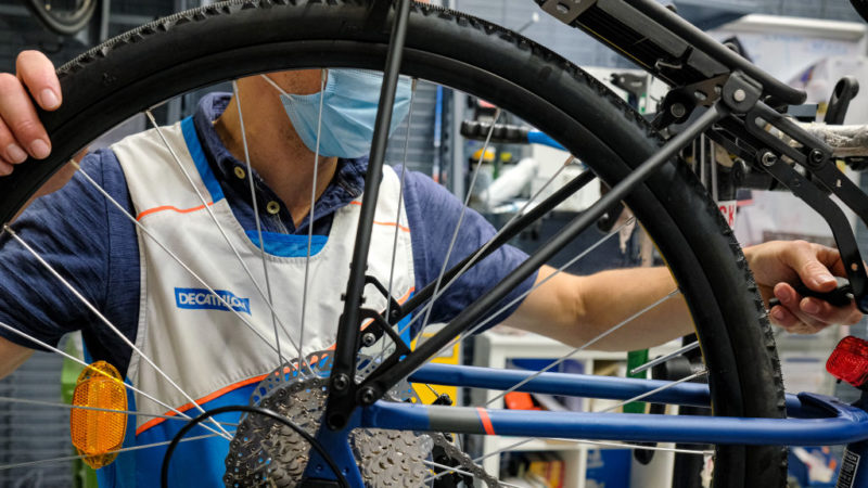 Decathlon embraces 'circular economy' with incentives to repair and recycle bikes