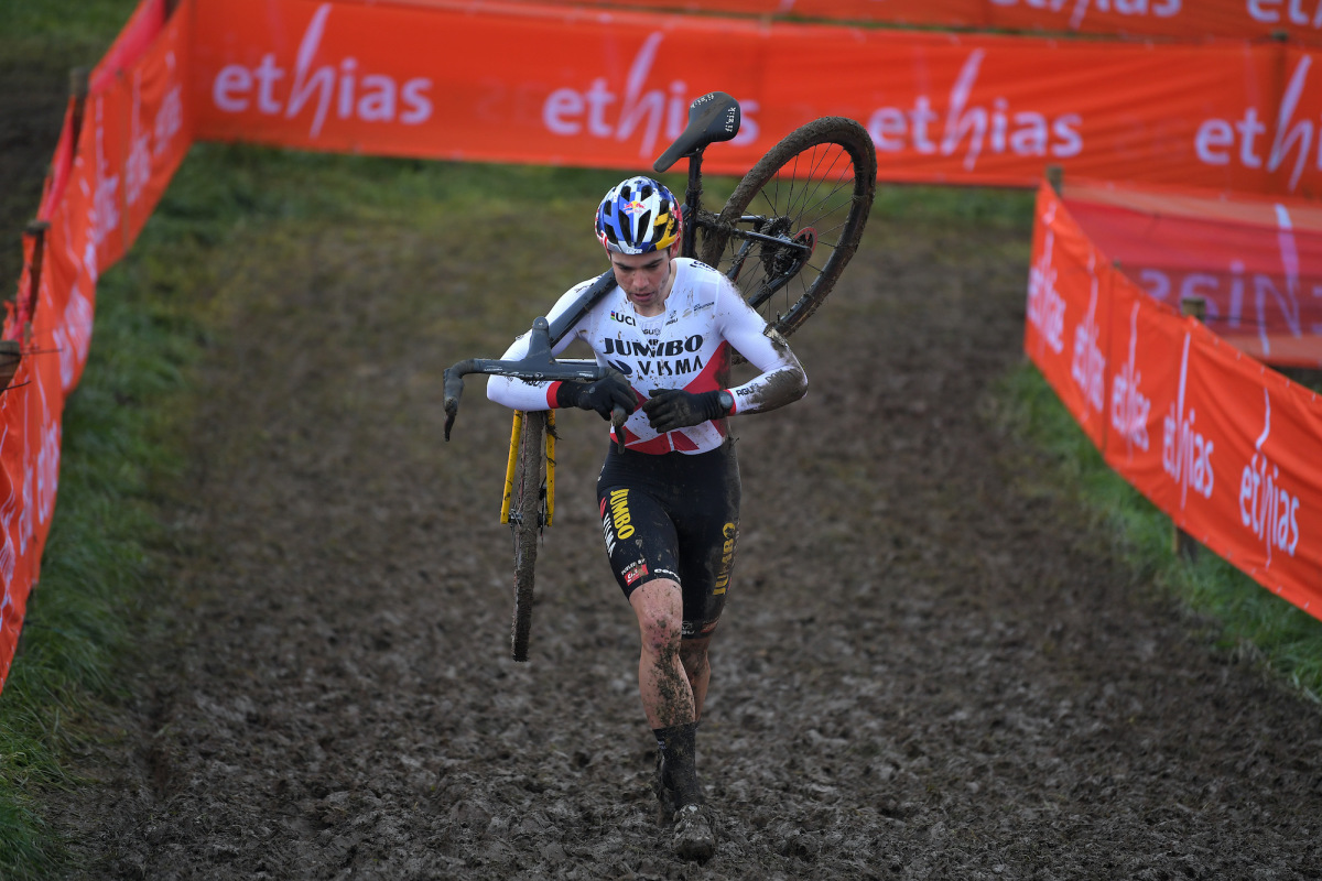 Wout van Aert, Ceylin del Carmen Alvarado win final round in Overijse – VeloNews.com