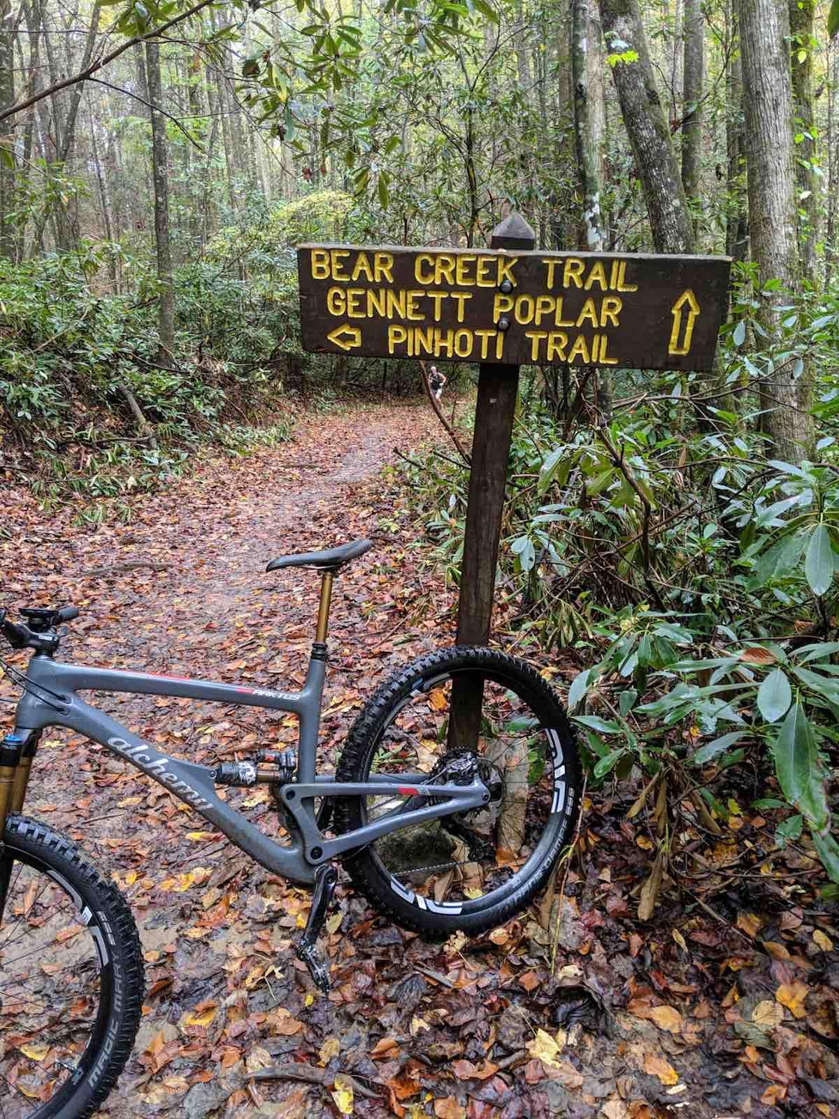 Bikerumor Pic Of The Day: Pinhoti Trail System, Georgia