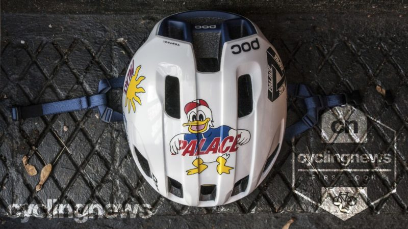 Object of Desire: Rapha x Palace POC Ventral Spin helmet