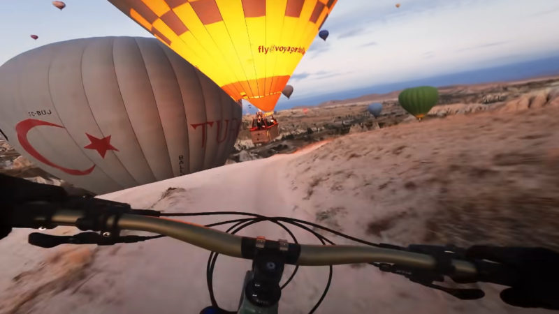 Must Watch: Kilian Bron flies through hot air balloons in Turkey for GoPro award