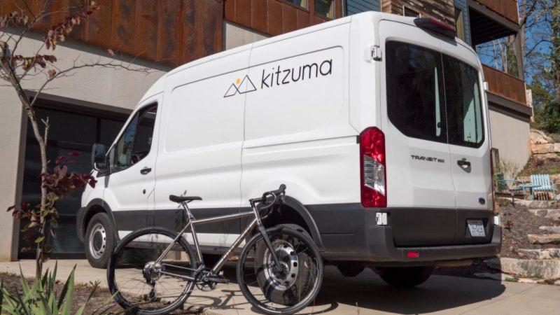 Il servizio di consegna di biciclette pronte all'uso senza scatola di Kitzuma va da costa a costa