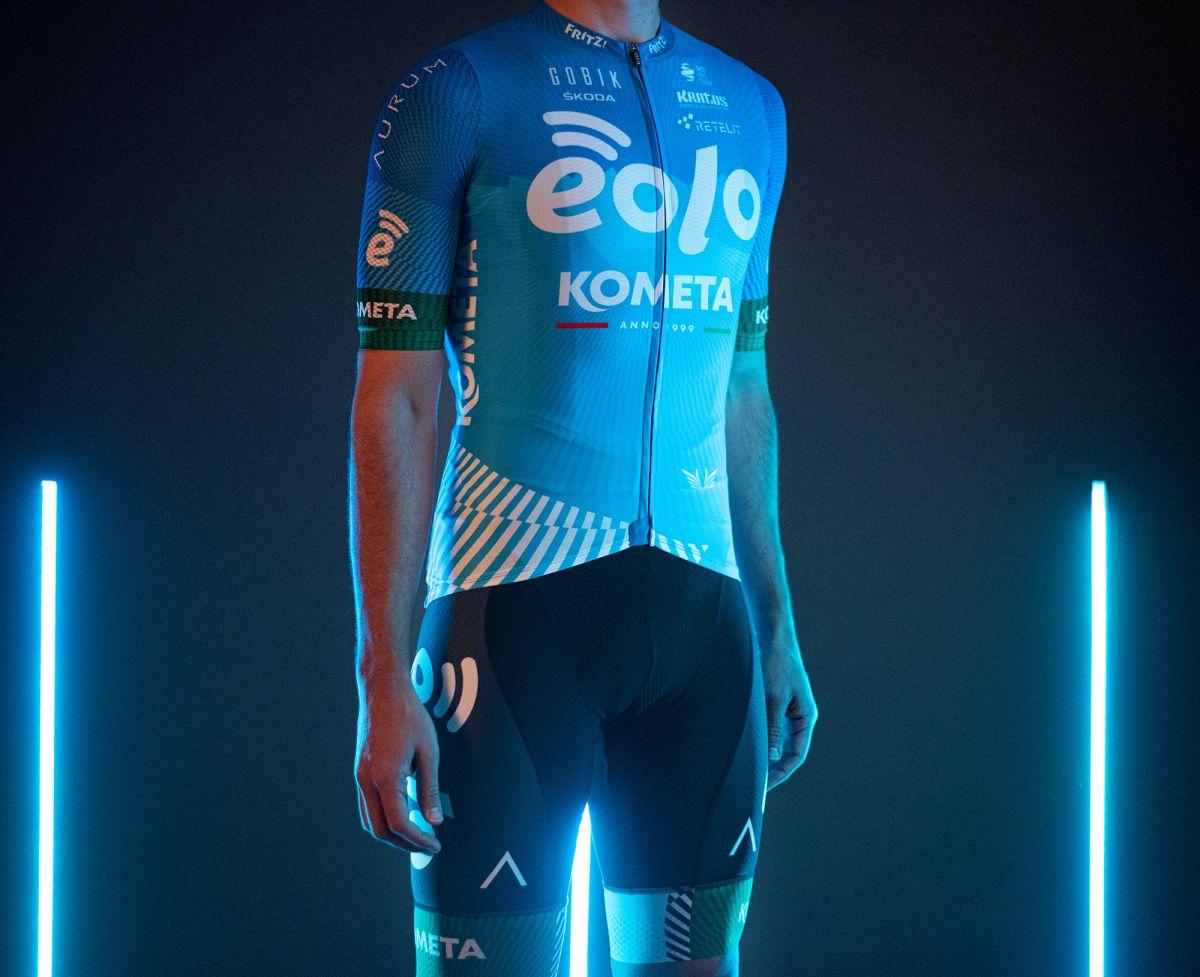Eolo-Kometa debut 2021 jersey | Cyclingnews