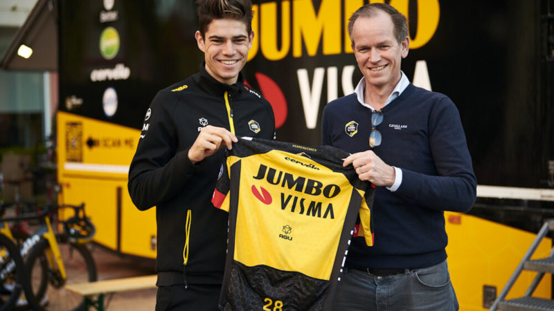 Wout van Aert extends contract with Jumbo-Visma