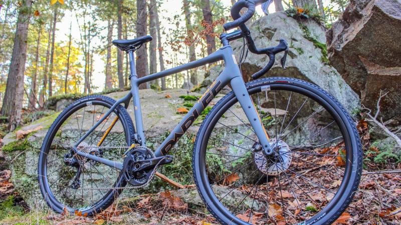 Parlee Chebacco XD gruscykel V3 charms med mere dækafstand, opbevaringsbeslag