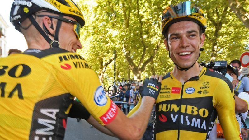 Wout van Aert signs three-year renewal with Jumbo-Visma