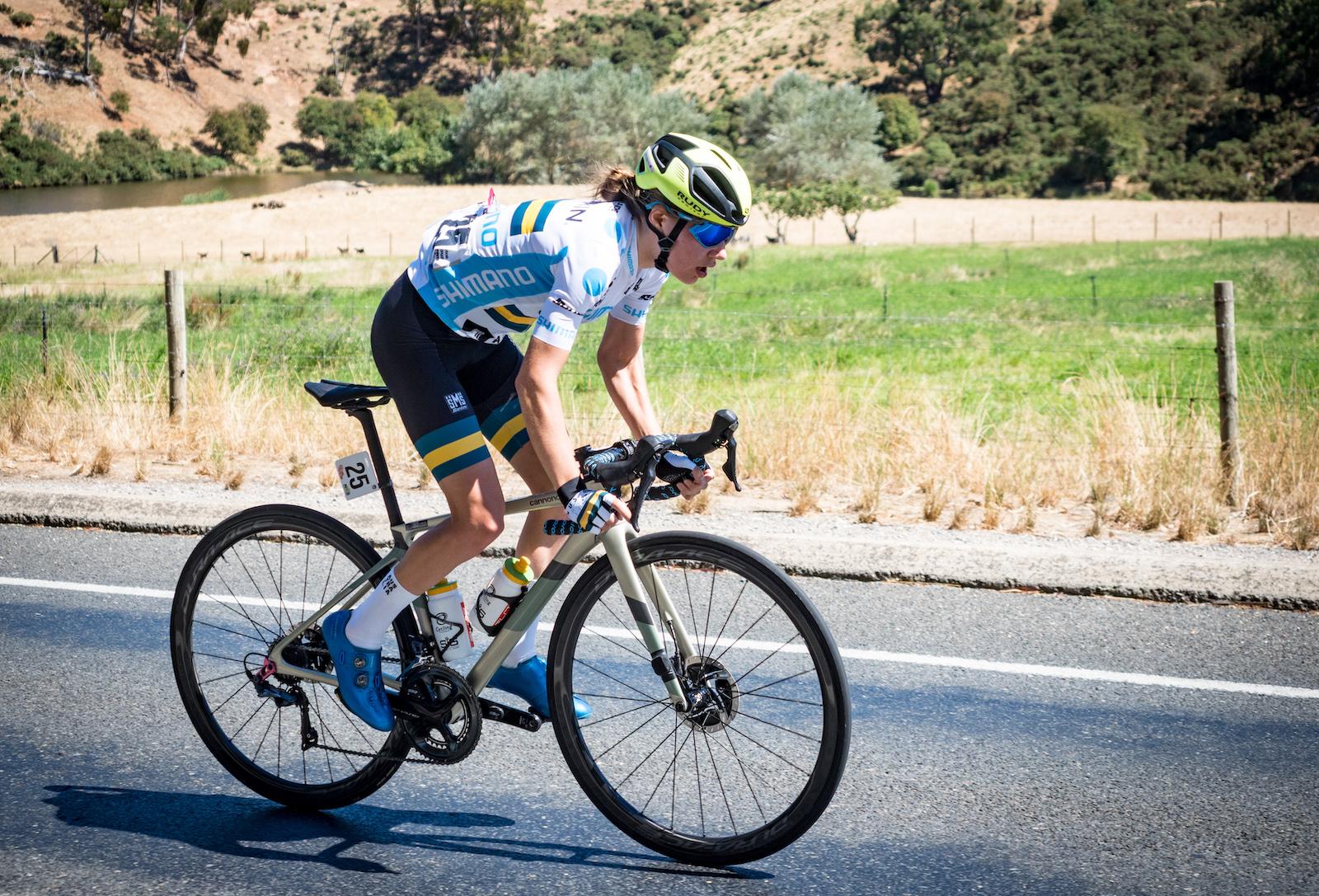 Gigante y Plapp ganan la etapa 2 del Festival de Ciclismo de Santos