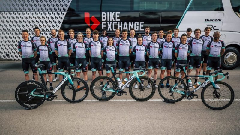 Unterstützung für Team BikeExchange garantiert bis 2022 – VeloNews.com