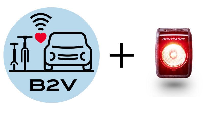 Lys og telefonapps, der taler til biler?  Trek & Specialized kommer tættere på / B2V-prototyper