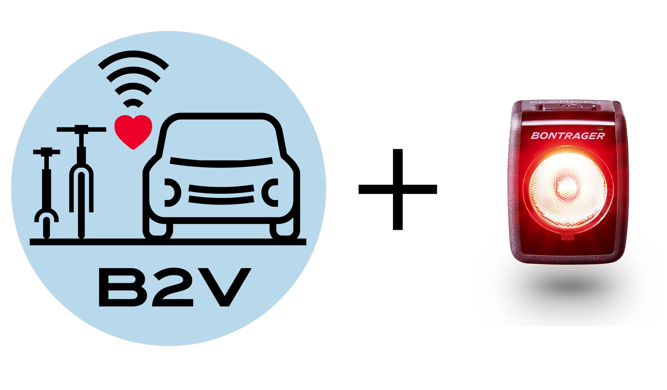 Lights & helmets that talk to cars? Trek & Specialized get closer w/ B2V prototypes
