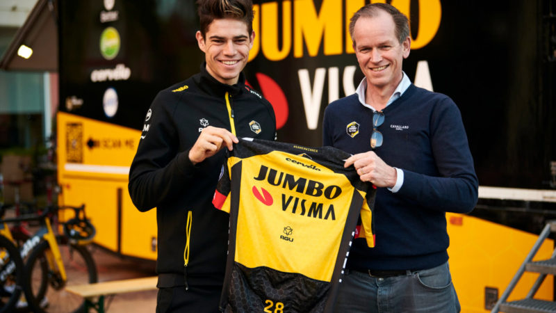 Wout van Aert renews with Jumbo-Visma through 2024 – VeloNews.com