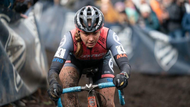 Rebecca Fahringer hitting cyclo-cross stride with two races until Worlds