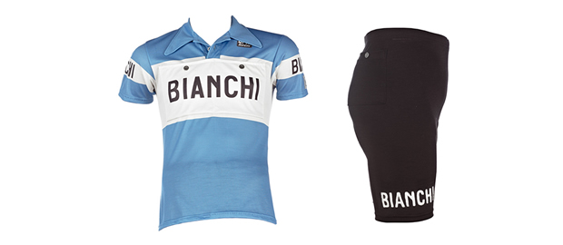 L'Eroica vintage clothing line from Bianchi