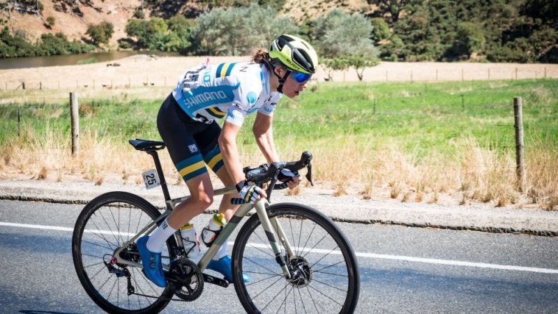 Santos Festival of Cycling: Sarah Gigante in powerful GC position ahead of Willunga climb